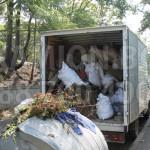 Kамион за изхвърляне и демонтаж на мебели