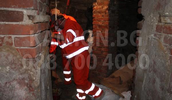 Почистване на мазета и тавани с камиони в София град