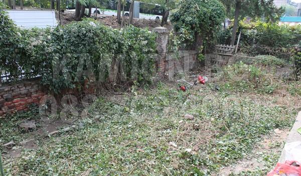 На 90% почистено дворно място в София