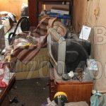 Извозване на отпадъци с голям камион в София